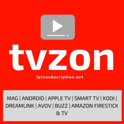 TVZON IPTV Server Subscription